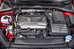 Motorcompartiment royalty-vrije stock foto