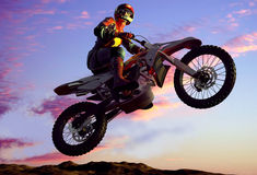 Motorcross Arkivfoton