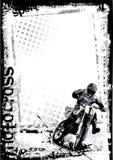 Motorcross background Stock Image