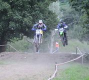 Motorcross in El Berron, Asturias, spain. Royalty Free Stock Photos