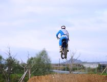 Motorcross in El Berron, Asturias, spain. Stock Photo