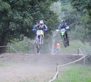 Motorcross en EL Berron, Asturies, Espagne Photos libres de droits