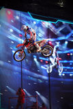 Motorcross Freestyle Rider Stock Photography