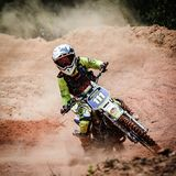 Motorcross Grasstrack Autonation photo libre de droits