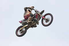 Motorcross jump Stock Photo