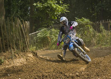 Motorcross. Motocross racing or scrambling as it is sometimes know Royalty Free Stock Photos