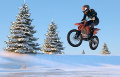 Motorcross Stock Photography