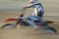 Motorcross panning Stock Images