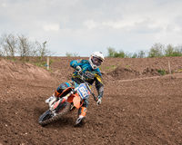 Motorcross Rider Stock Images