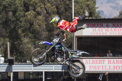 Motorcross stunts Stock Image