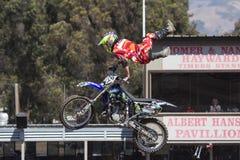 Motorcrossstunts Stock Afbeelding