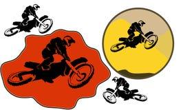 Motorcucle-Satz Lizenzfreies Stockfoto