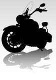 Motorcycl en el camino Imágenes de archivo libres de regalías