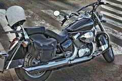 Motorcycl hermoso del alto-cilindro fotografía de archivo libre de regalías