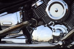 Motorcycle - 1 Royalty Free Stock Photography