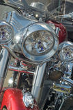 Motorcycle. Big,powerful Bike.Front of view Royalty Free Stock Photography