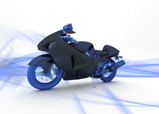 Motorcycle stock illustration