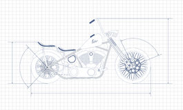 Motorcycle,. 1 motorcycle isolated on a black background stock illustration