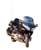 Motorcycle. An Japan motorcycle over a white background Stock Image