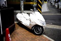 Motorcycle. Transportation motorcycle in Japan Tokio stock photography