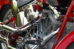 Motorcycle. Photographed motorcycle at a local show Royalty Free Stock Photo