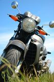 Motorcycle. Headlight Stock Photos