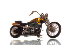 Motorcycle. Isolated on white background Royalty Free Stock Photography
