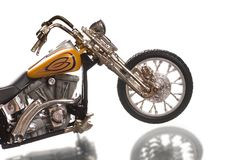 Motorcycle. Isolated on white background royalty free stock photos