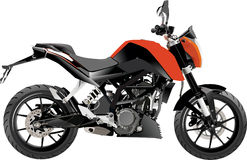 Motorcycle adventure sport full_vector Stock Photography