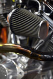 Motorcycle air filter Royalty Free Stock Photo