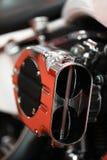 Motorcycle air filter Stock Photos