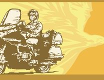 Motorcycle Background Royalty Free Stock Photo