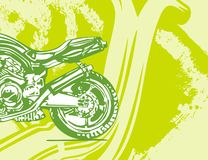 Motorcycle Background Royalty Free Stock Image