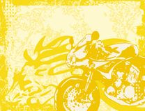 Motorcycle Background. Motorcycle Grunge Background Series. Check my portfolio for much more of this series as well as thousands of similar and other great Royalty Free Stock Images