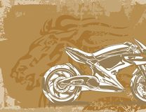 Motorcycle Background. Motorcycle Grunge Background Series. Check my portfolio for much more of this series as well as thousands of similar and other great Stock Photography