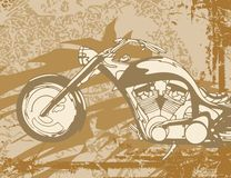 Motorcycle Background. Motorcycle Grunge Background Series. Check my portfolio for much more of this series as well as thousands of similar and other great Royalty Free Stock Photo