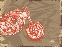 Motorcycle Background. Motorcycle Grunge Background Series. Check my portfolio for much more of this series as well as thousands of similar and other great Royalty Free Stock Photos
