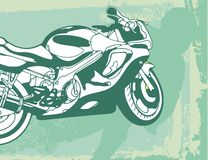 Motorcycle Background royalty free illustration