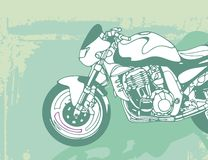 Motorcycle Background Stock Photography
