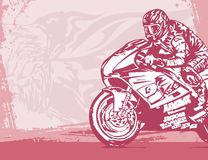 Motorcycle Background Royalty Free Stock Photography