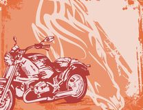 Motorcycle Background Royalty Free Stock Photo