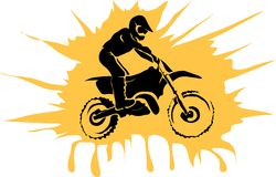 Motorcycle background Stock Image