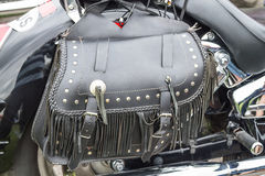 Motorcycle bag Royalty Free Stock Photos