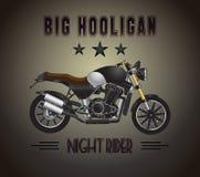 Motorcycle big hooligan Stock Image