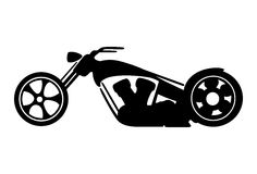 Motorcycle royalty free illustration