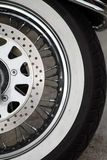 Motorcycle brake disc Royalty Free Stock Image