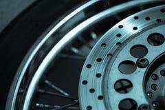 Motorcycle brake disc Stock Photography