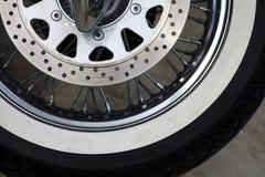 Motorcycle brake disc Royalty Free Stock Photos