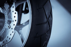 Motorcycle brake disc Stock Photography
