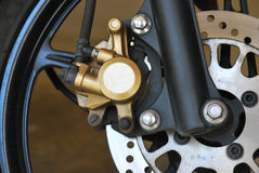 Motorcycle Brakes Royalty Free Stock Photos